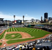PNC Park, home of the Pirates