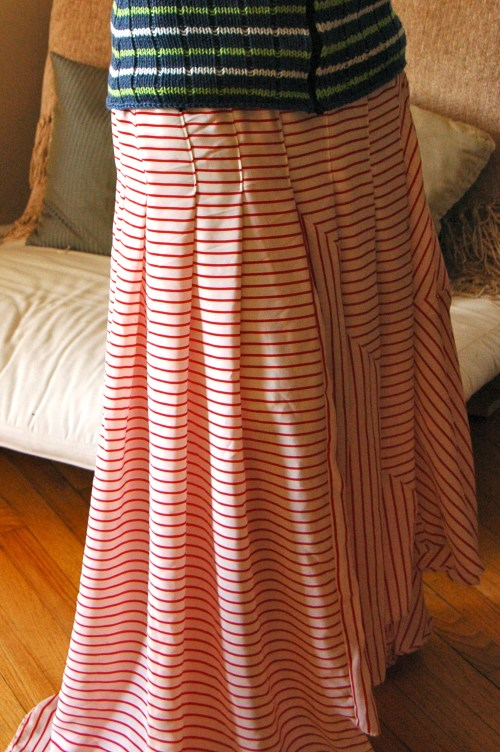 Pirate Striped Skirt