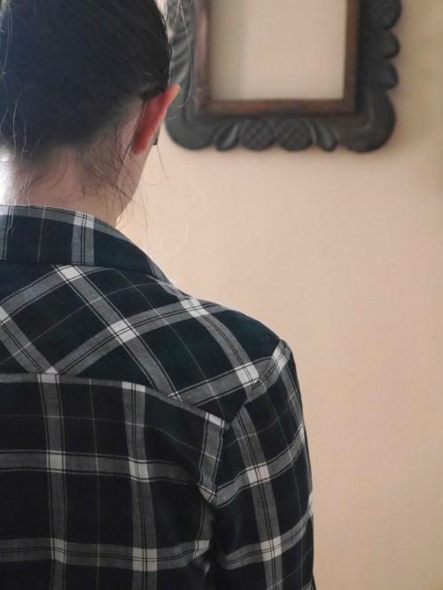 Archer button up shirt - back yoke