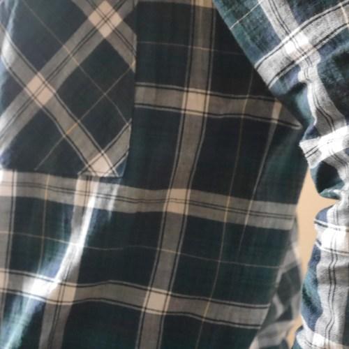 Archer button up shirt - side seam