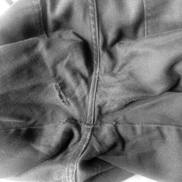 Mending Jeans - Beginnings