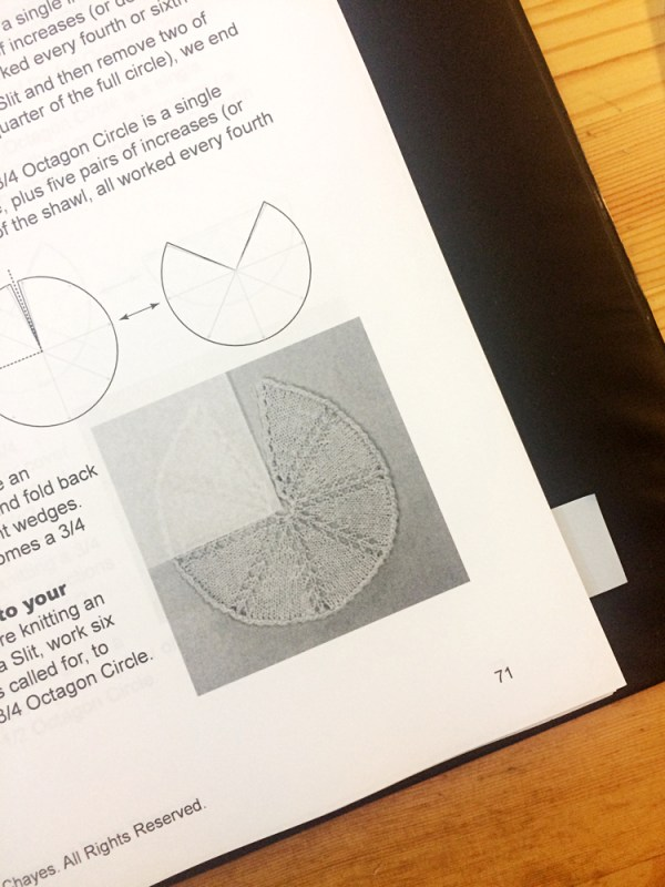 Shawl Geometry Book Editing