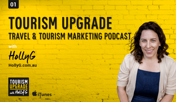 Holly Galbraith Tourism Speaker and Podcaster
