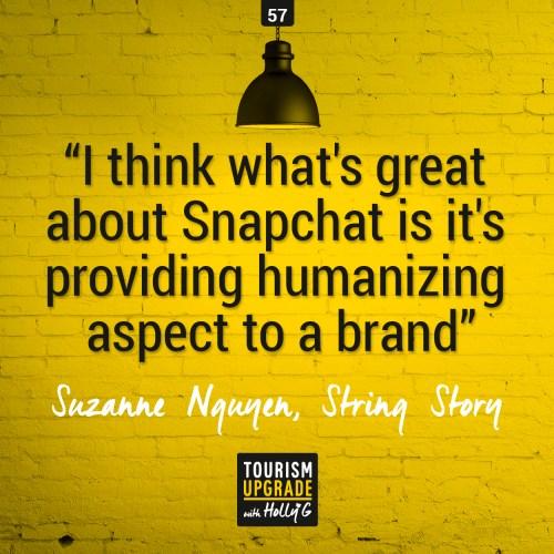 Snapchat Tourism Upgrade
