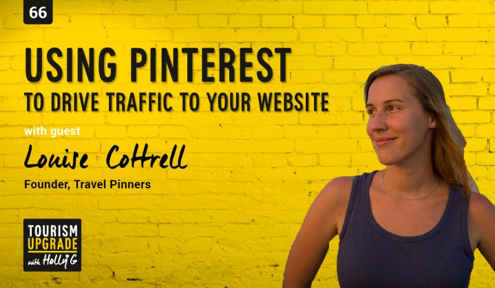 Pinterest to drive website traffic Louise travel pinners