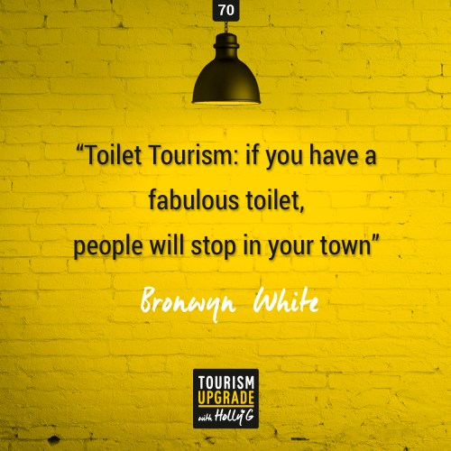 Toilets and Tourism for destination marketing