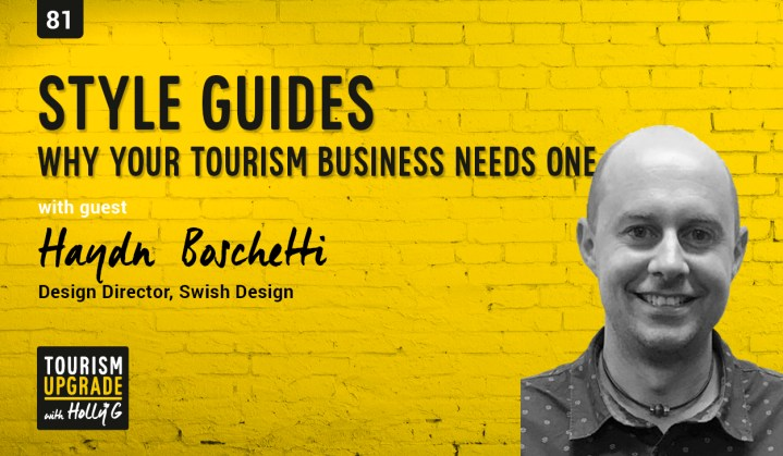What is a style guide and why your tourism business needs one