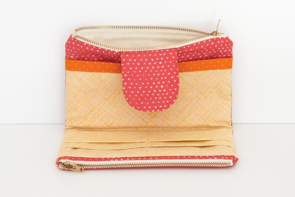 Holly McBride Workshop | Half-Rainbow Wallet | hollymcbride.com