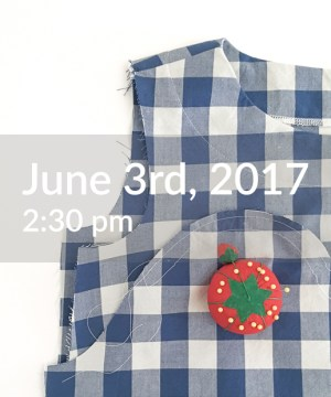Holly McBride Workshop | Open Sew June 3rd | hollymcbride.com