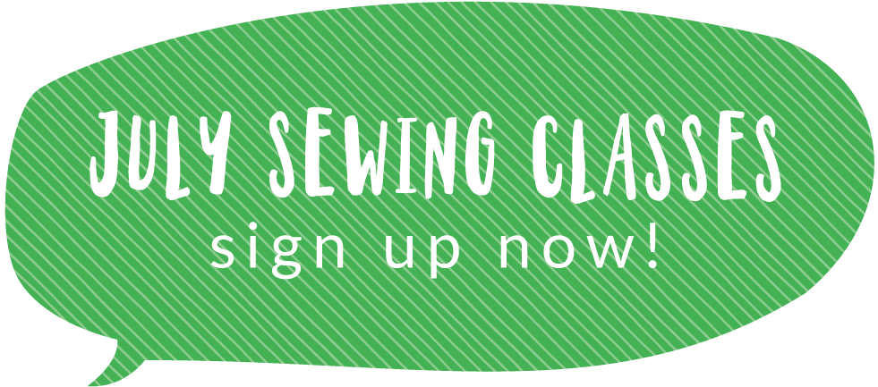 Holly McBride Workshop | July Sewing Classes | hollymcbride.com