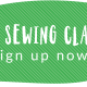 Sign up now for July classes!