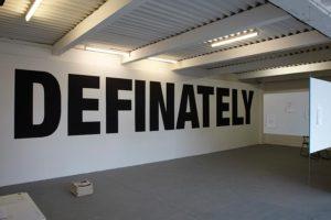definately
