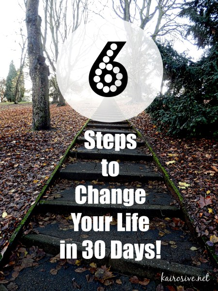 Could You Change Your Life in 30 Days?