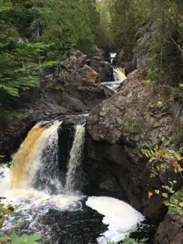 Possibly my favorite waterfall in Minnesota at Cascade River State Park, Lutsen, Minnesota