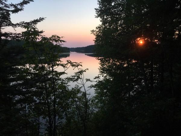 Stunning vistas at Hayes Lake State Park in Roseau, Minnesota