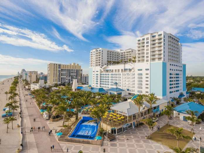 Ocean resort view