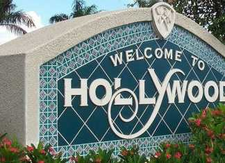 Hollywood welcome sign