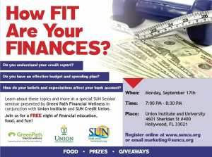 How Fit Are Your Finances? @ Union Institute and University