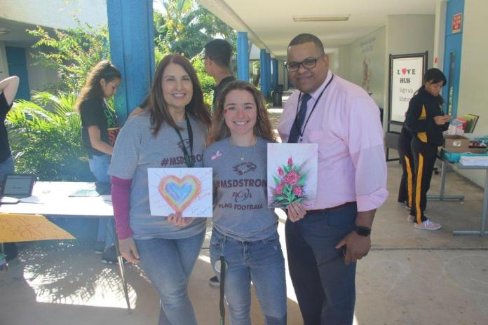 Love hub event unites hollywood hills high school on feb. 14