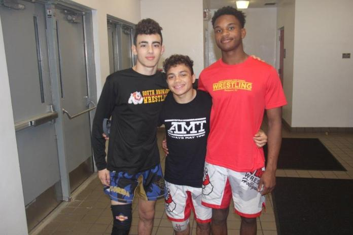 South broward bulldogs wrestling team earns second place in tournament
