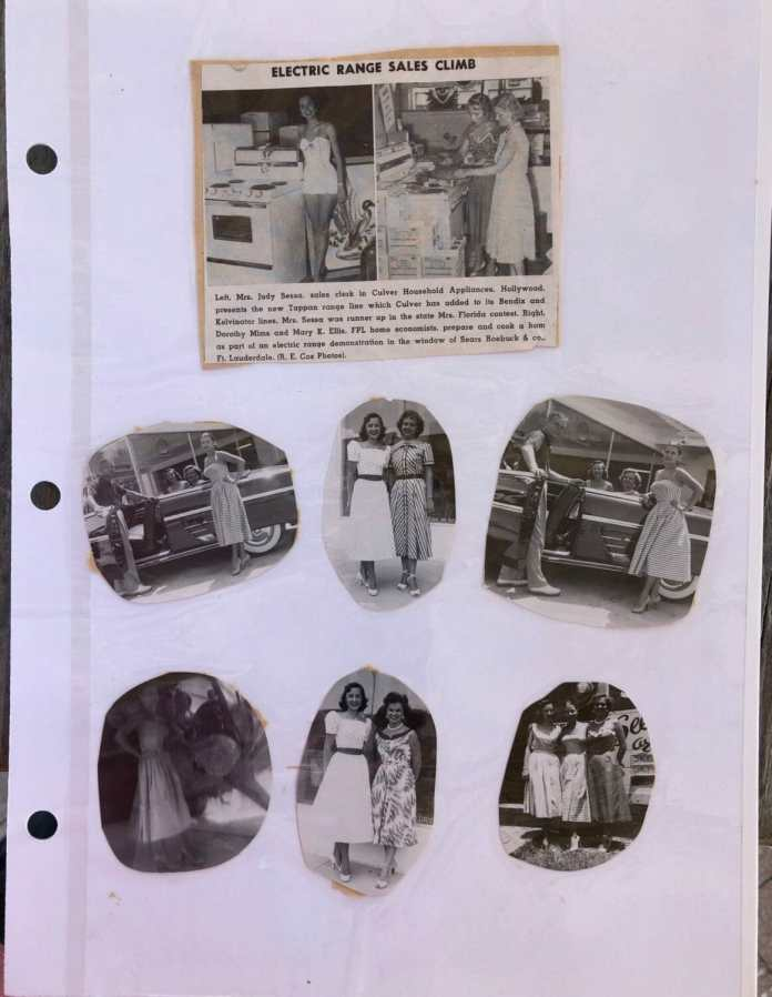 From Judy Sessa's scrapbook