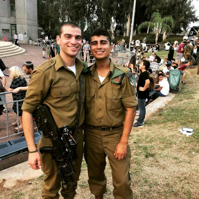 Leon sultan, hollywood teen or israeli solider?  actually, he's both!