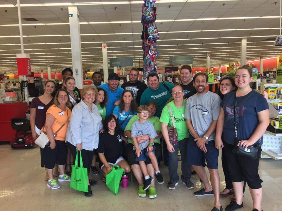 Hollywood jaycees organize annual back-to-school shopping spree for over 100 local students on aug. 3