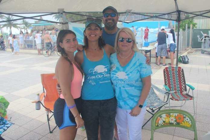 Free our seas environmental art festival celebrates earth day