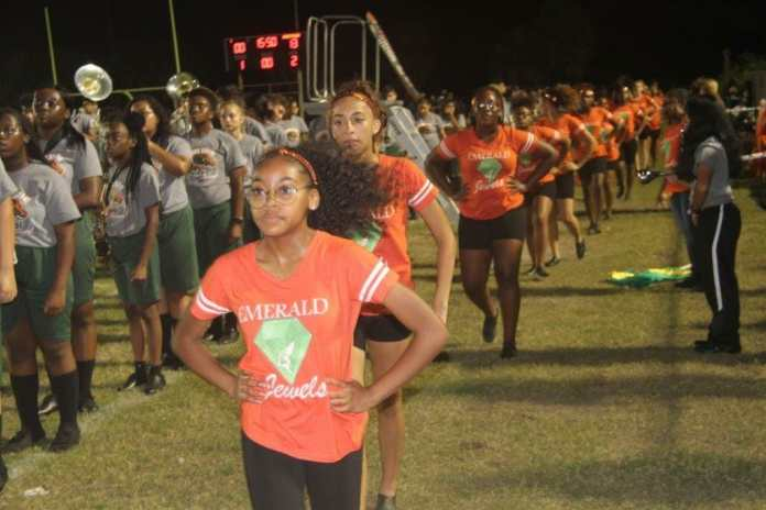 Mcarthur marching band gives strong performance