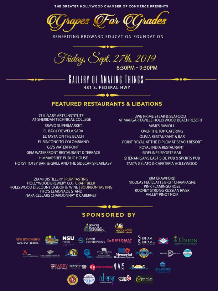 Silent auction features lunch with mayor levy and more to scholarships to hollywood seniors