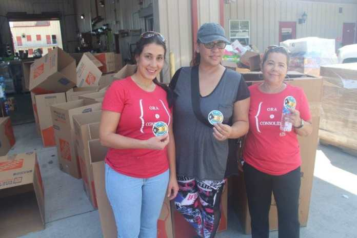 Hollywood fire department collects items for the bahamas