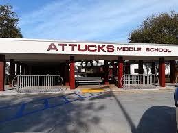 Attucks Middle School today
