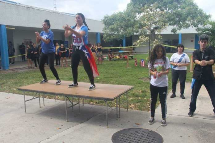 Latinos in Action celebrates Hispanic Heritage Month at Hollywood Hills High School
