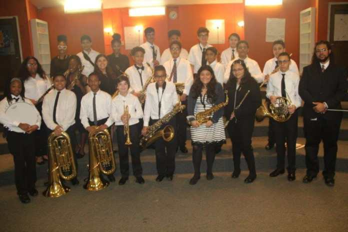 Apollo Middle School Concert band participates in competition