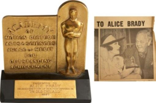 Image result for alice brady oscar sale