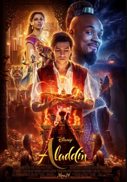 Aladdin Will Smith Poster