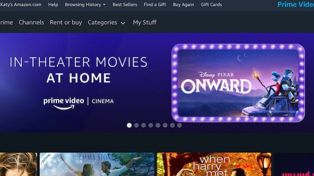 Hollywood Insider Amazon Prime Video Cinema List Latest Theatrical Releases