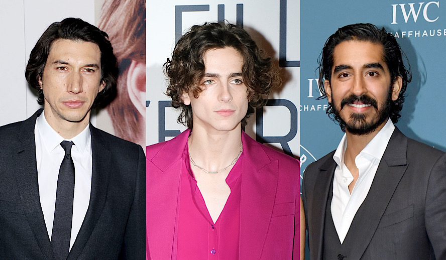Hollywood Insider Feature Independent Films Adam Driver, Timothee Chalamet, Dev Patel