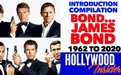 Video – Introduction Compilation: All 'Bond… James Bond' 007 Intros 1962 to 2020, Sean Connery – Daniel Craig