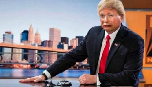 Trump Impersonator: 'He's Not Going Anywhere'