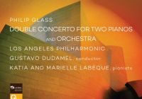 Dudamel & Labeque Sisters' Perf of Glass's Double Concerto in Digital