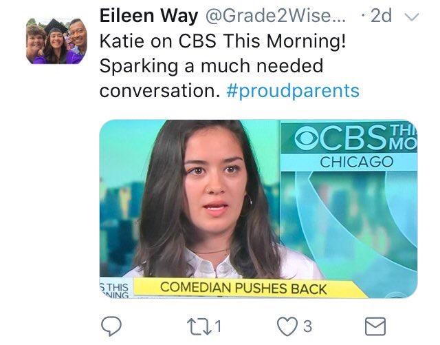 Katie Way parents on Twitter