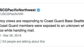 White Substance Coast Guard