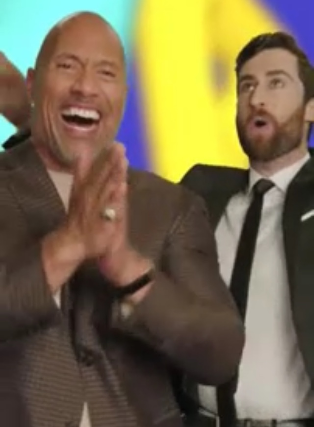 The Rock on HQtrivia