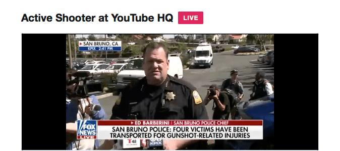 Youtube shooter