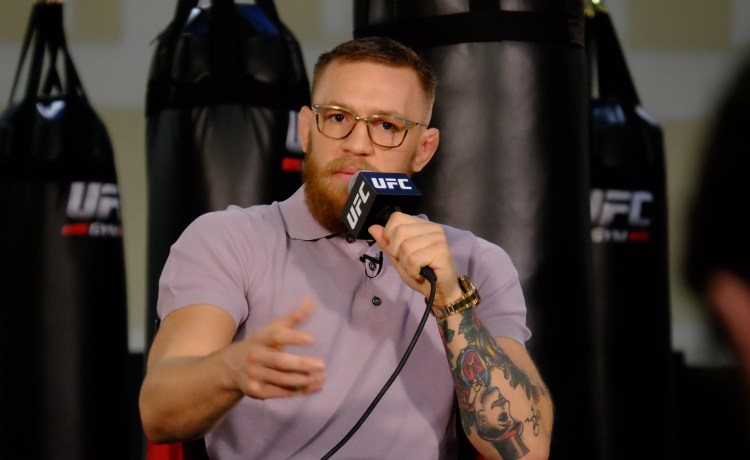 McGregor Fine by Nevada Athletic Commission