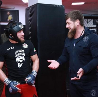 Kadyrov Bibulatov in Chechnya