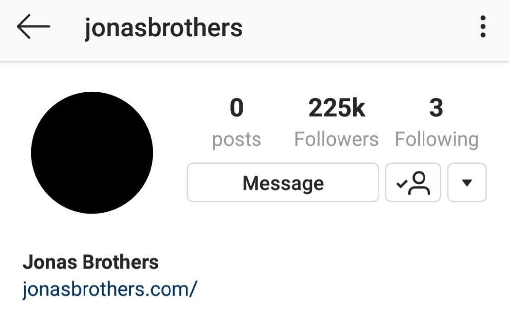 Jonas Brothers Blackout IG