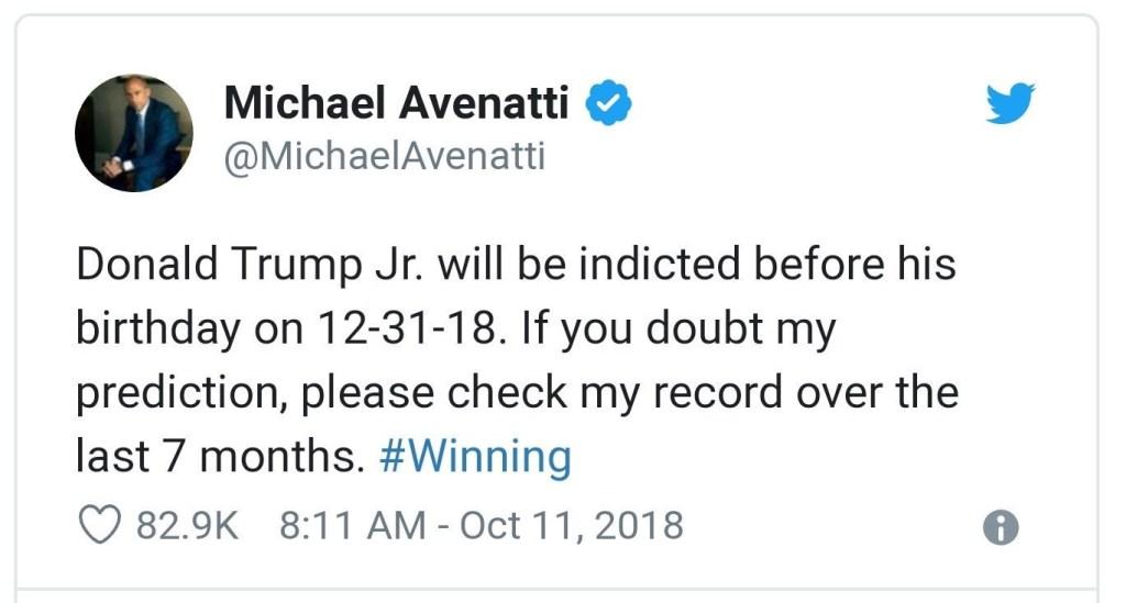 Trump Jr. Indictment