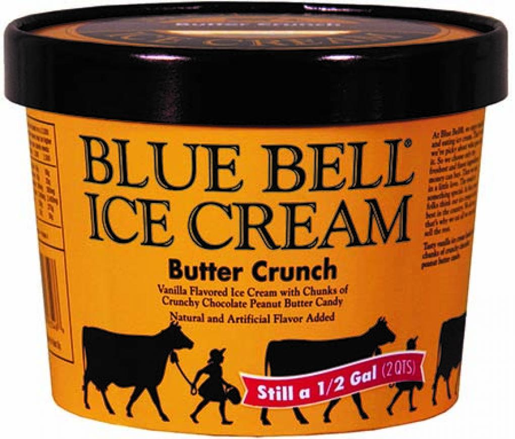 Bluebell Ice Cream recall